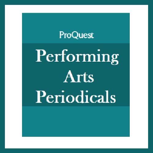 Performing Arts Periodicals Database