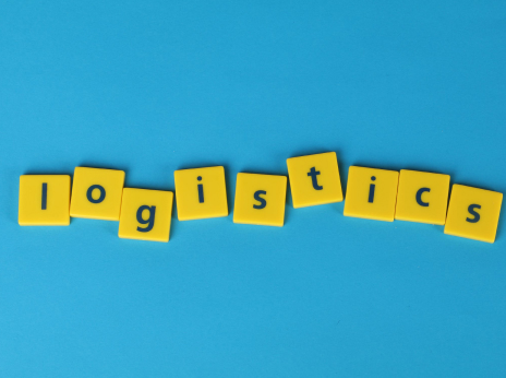 Game letters spelling 'logistics'