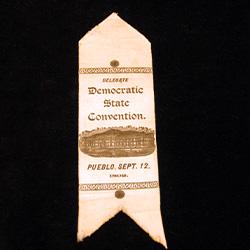 Delegate Democratic State Convention, 1892