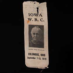 Ribbon for the Iowa Women's Relief Corps