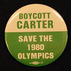 Green and white, Boycott Carter