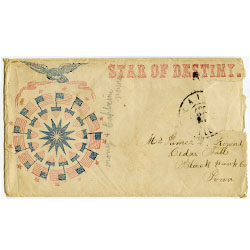 Envelope for a letter from a civil war soldier
