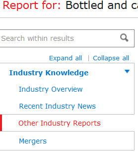 other industry reports