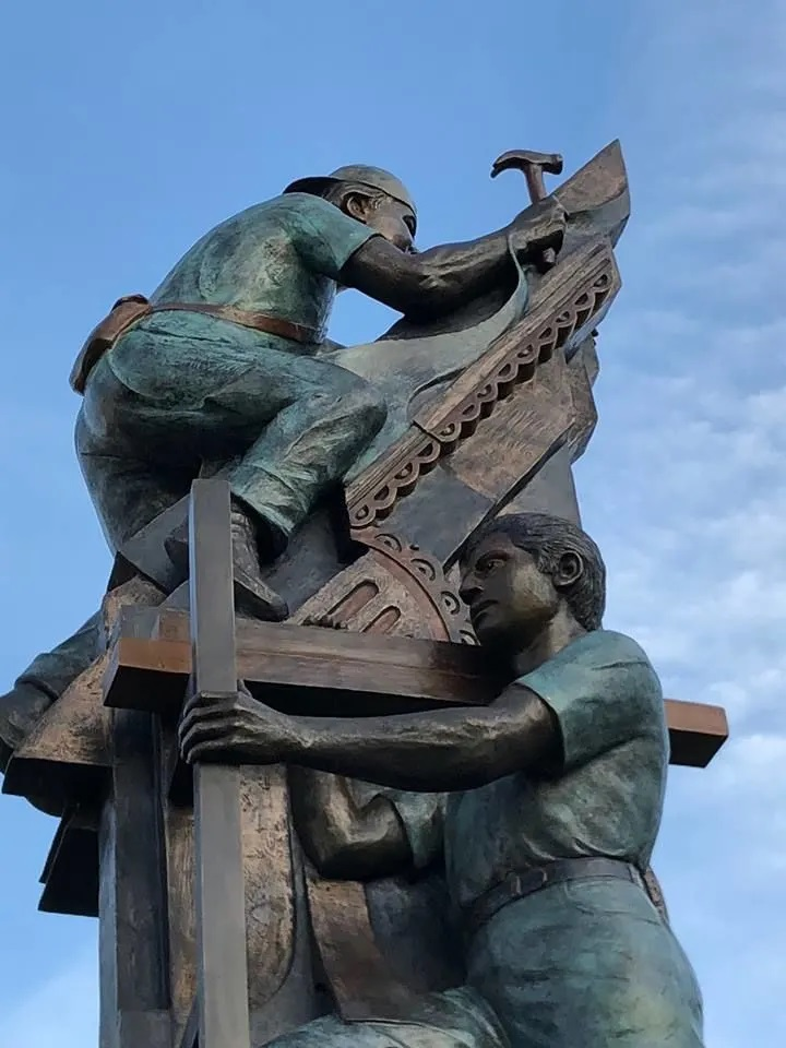 Monument to Latin American workers, New Orleans