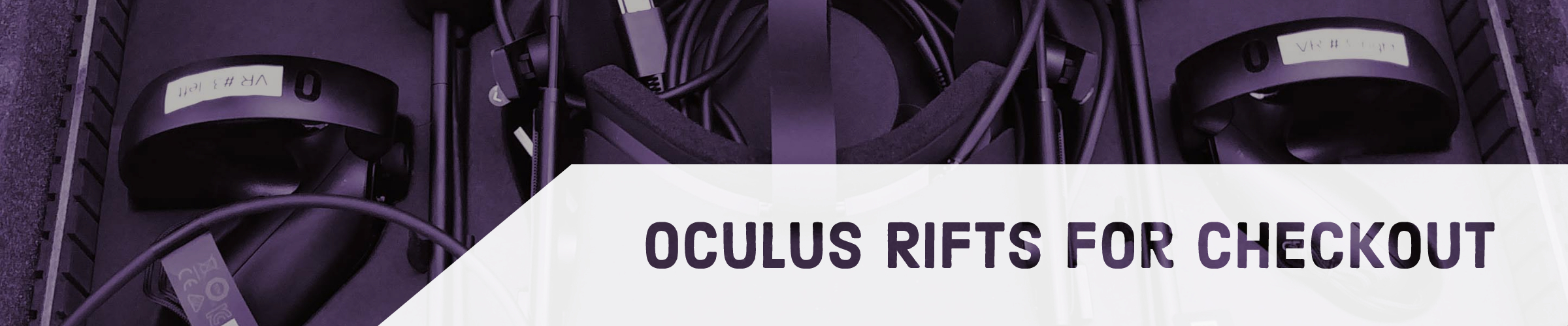 Oculus Rifts for Checkout