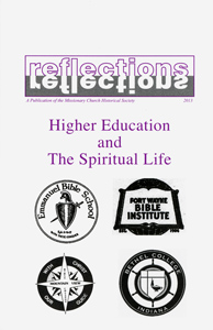 Cover of 2013 Reflections issue