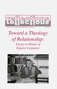 Cover of 2014-15 Reflections issue