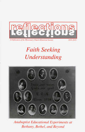Cover of 2018-19 Reflections issue