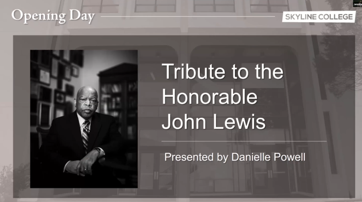 John Lewis Tribute by Danielle Powell