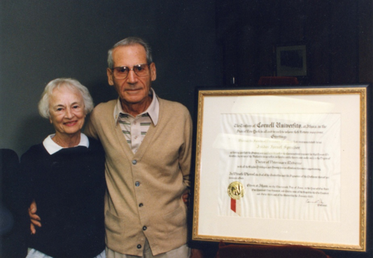 Portrait of Dr. and Mrs. Sprecher