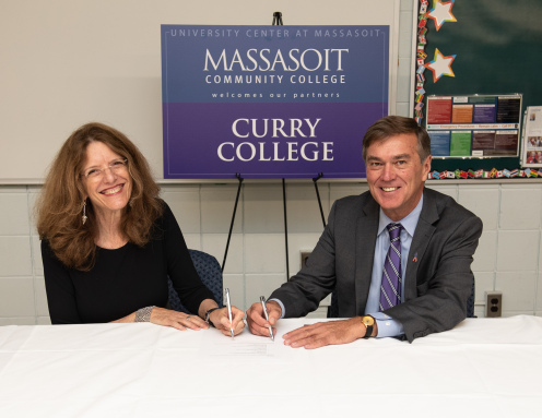 MCC and Curry College Partnership for Nursing