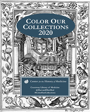 Harvard Countway Library Center for the History of Medicine coloring book cover