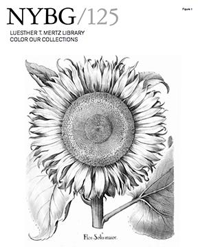 New York Botanical Garden coloring book cover