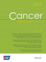 Journal cover for Cancer (online)