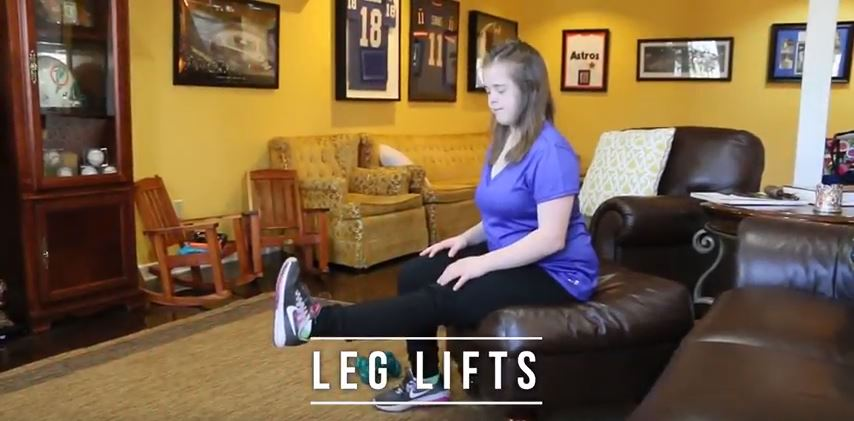Leg Lifts, Wall Sits, and Planks