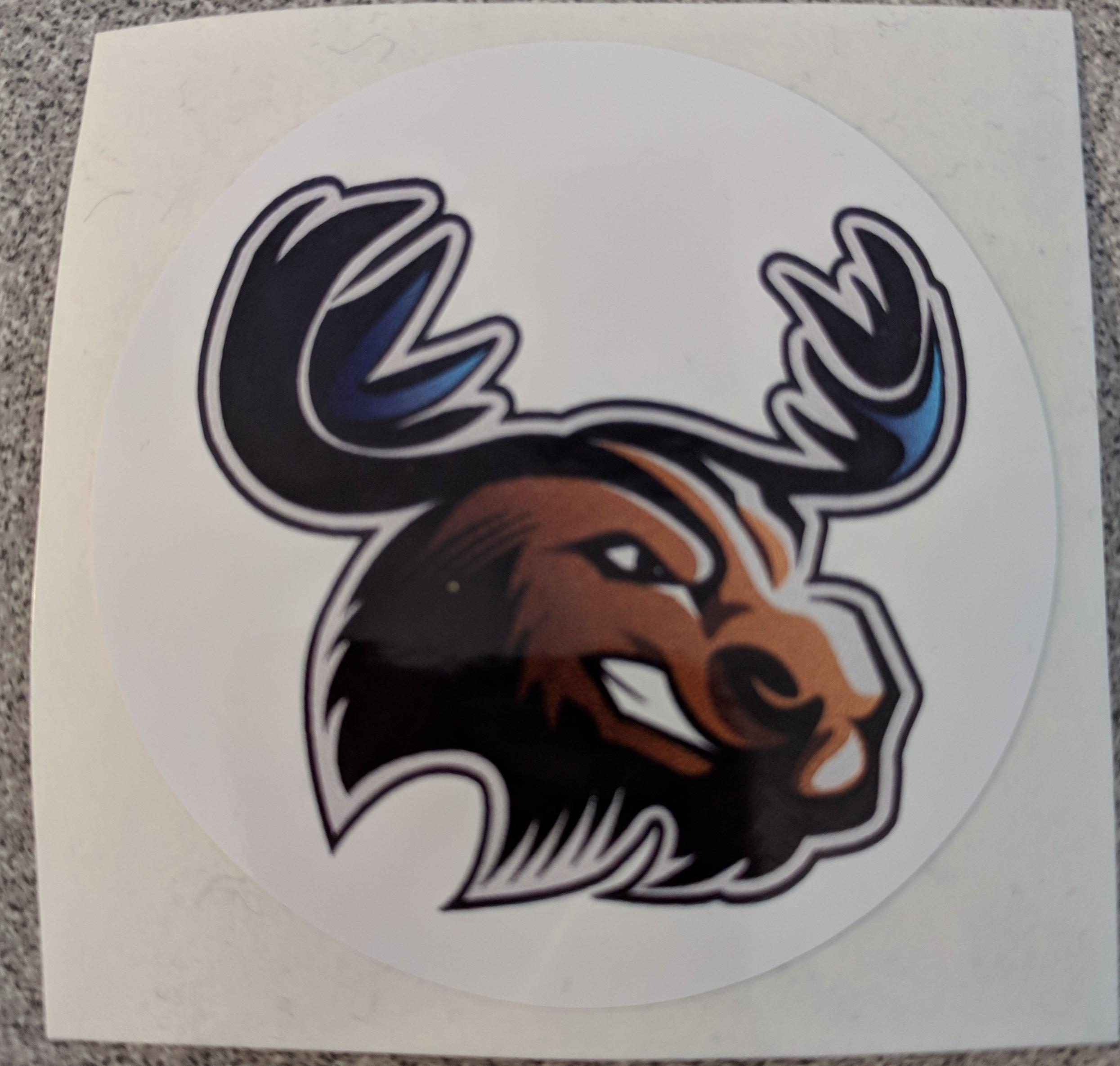 UMA moose sticker