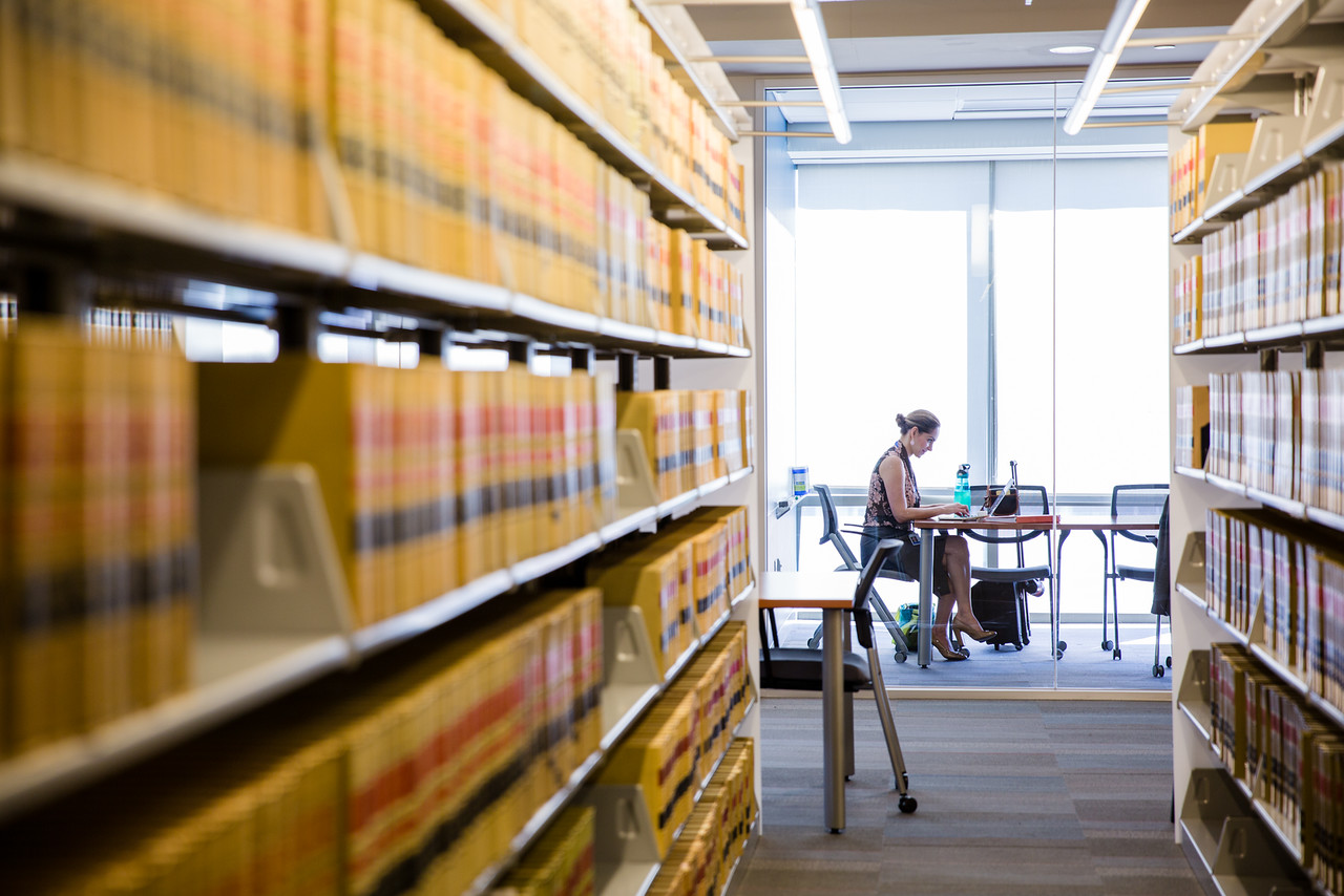 UNT College of Law Library Photo