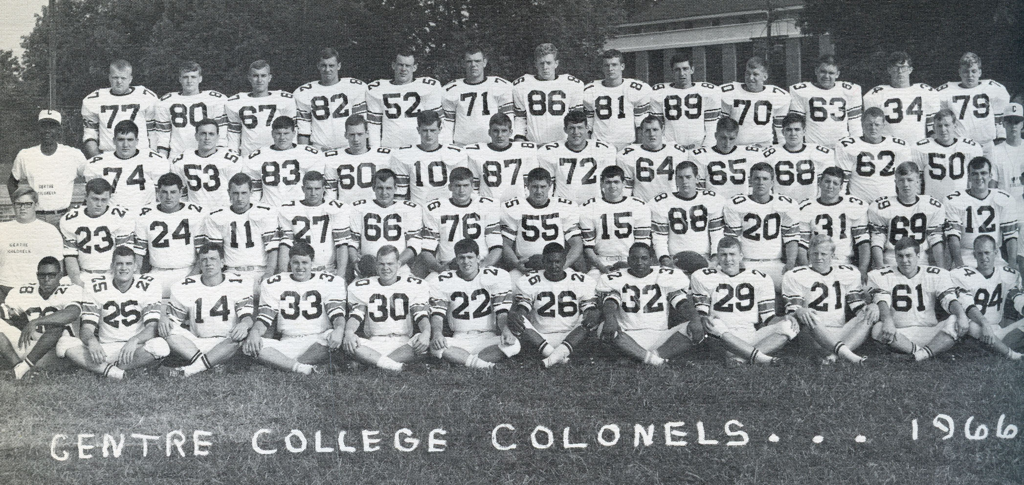 Yearbook 1966 (Football players)