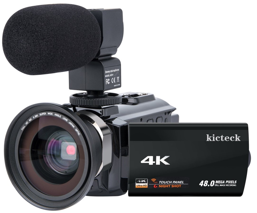 Image of the Kicteck Camcorder