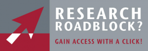 Research Roadblock? Gain access with a click