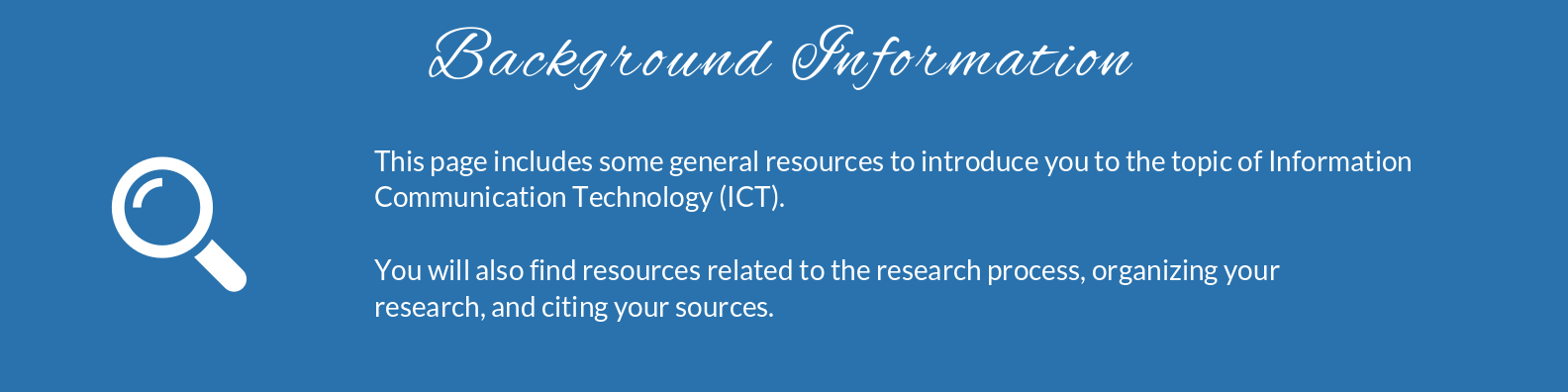 This page includes some general resources to introduce you to the topic of library science, plus some books that provide an overview of a few different library career paths. Also included on this page are some resources related to the research process, organizing your research, and citing your sources.