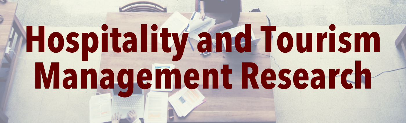 Hospitality and Tourism Management Research Banner