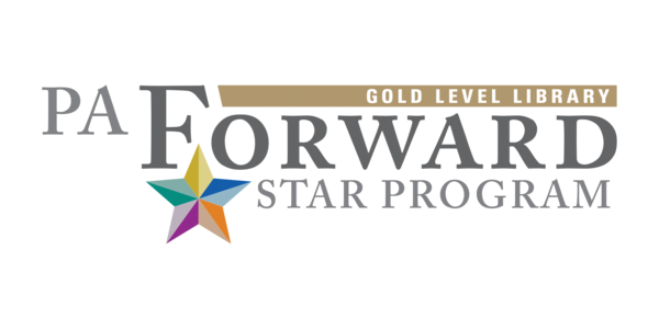 PA Forward Gold Star Level Library Logo