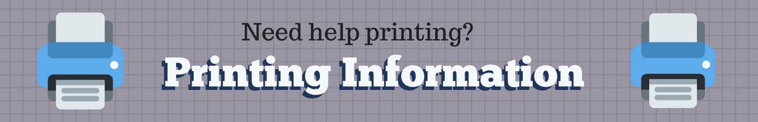 Printing information