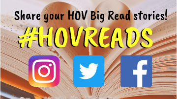 Share your HOV Big Read stories with Social Media.