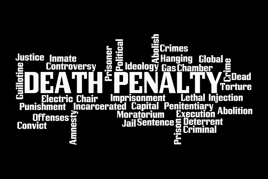 word death penalty and words associated with it
