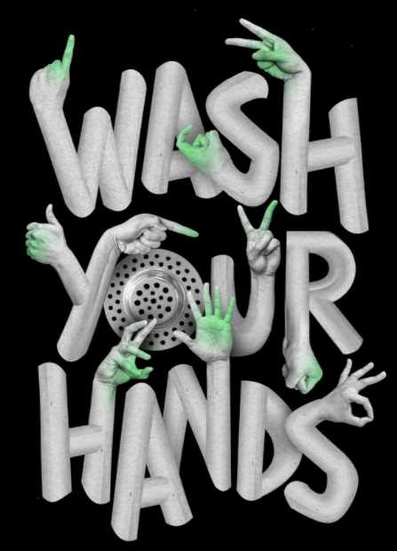 graphic for wash your hands