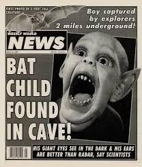 Bat Boy found in cave