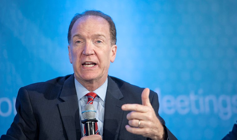 """David R. Malpass, President of the World Bank, speaks at the event """"Raising the Bar: What Works to Reduce Poverty and Spur Growth"""", 2019; World Bank photo 101619-ReducePoverty0067F"""