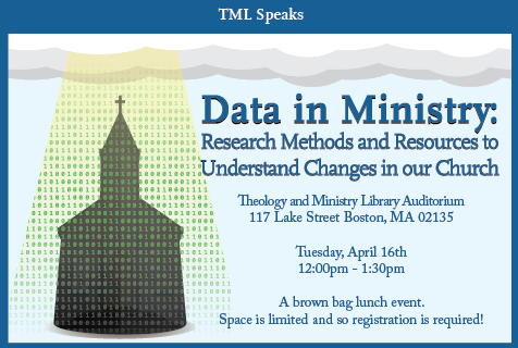 Data in Ministry: Research Methods and Resources to Understand Changes in Our Church