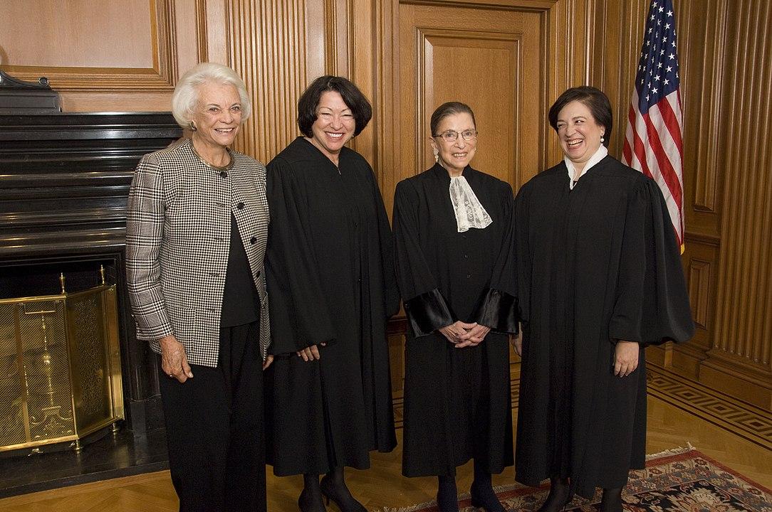 O'Connor, Sotomayor, Ginsburg, and Kagan