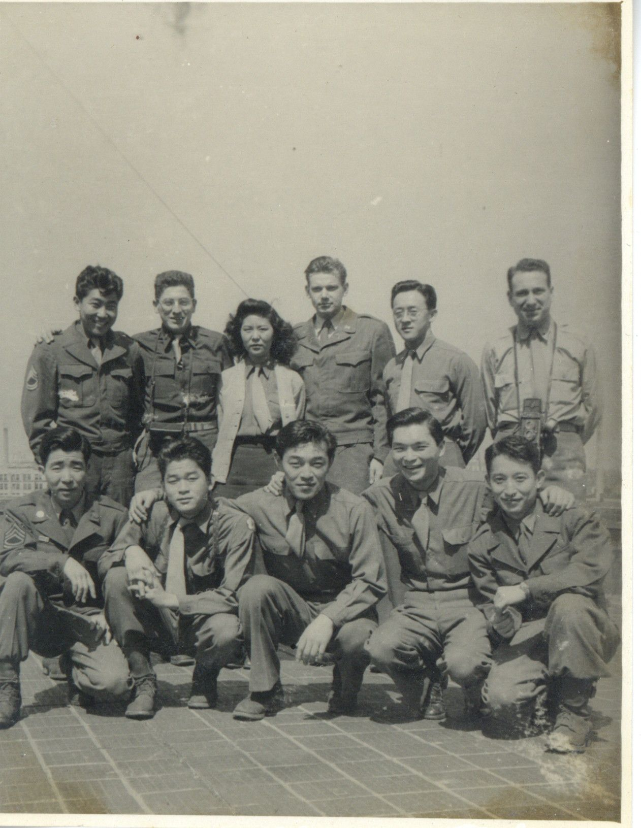 group photo of CCD personnel 1946