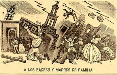 Print by Jose Guadalupe Posada