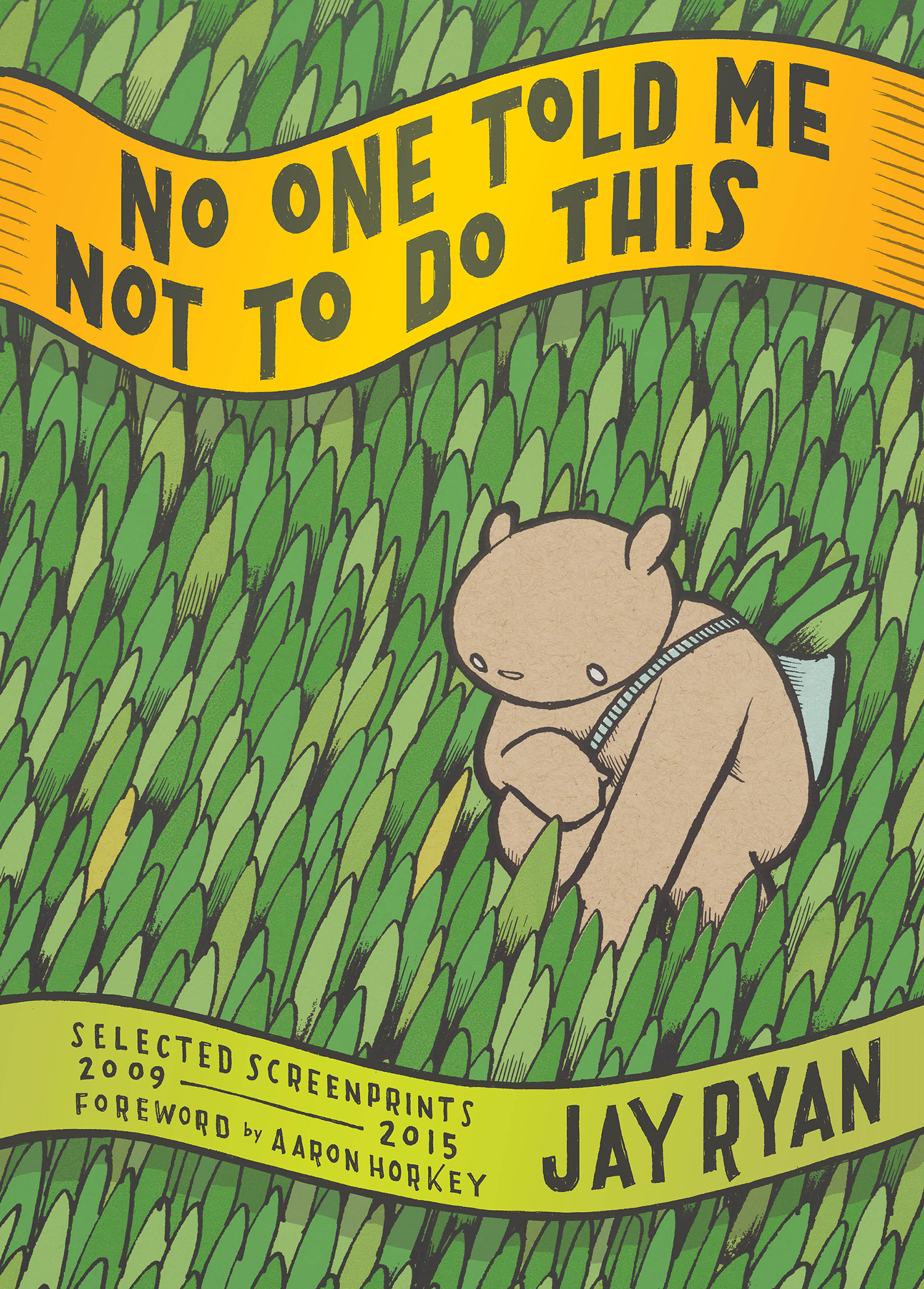 No One Told Me Not To Do This, eBook cover