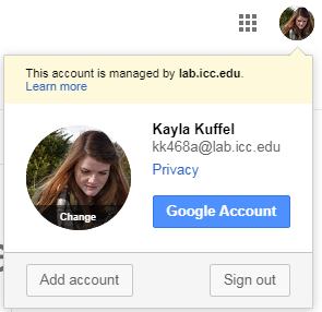 Adding a gmail account