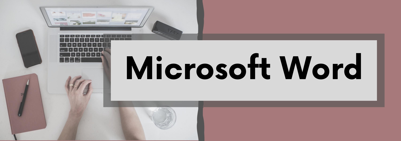 Microsoft Word Banner