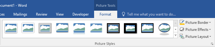 Formatting options for Word images pt 2