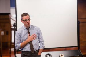 Matt Mullins teaching