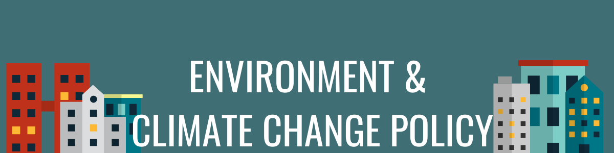 Environment & Climate Change Policy