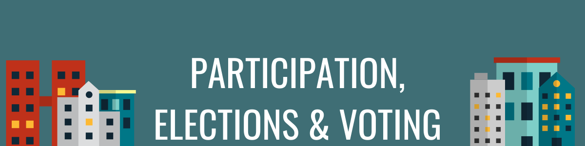 Participation, Elections & Voting
