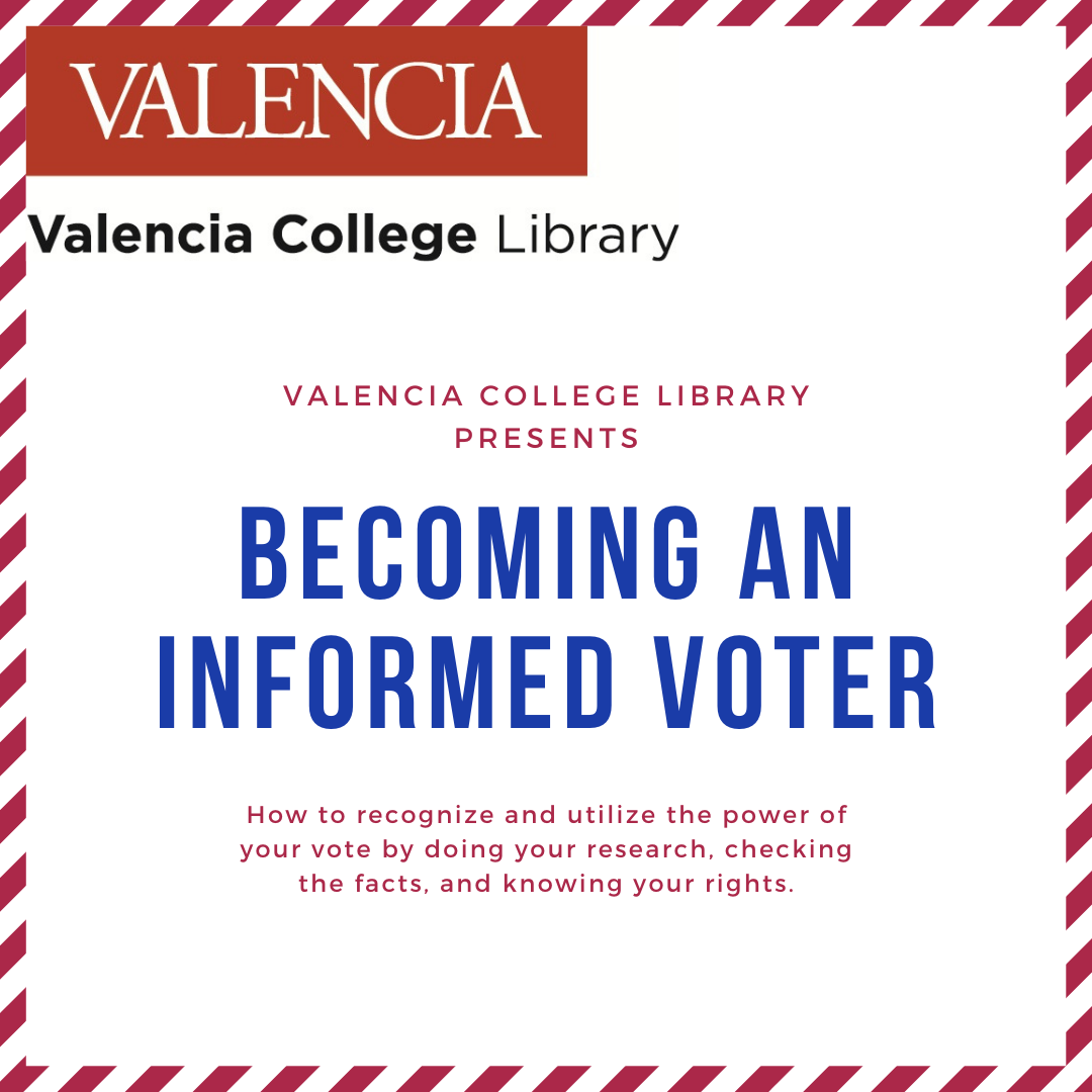 Becoming An Informed Voter workshop announcement