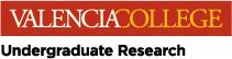Valencia College Undergraduate Research logo