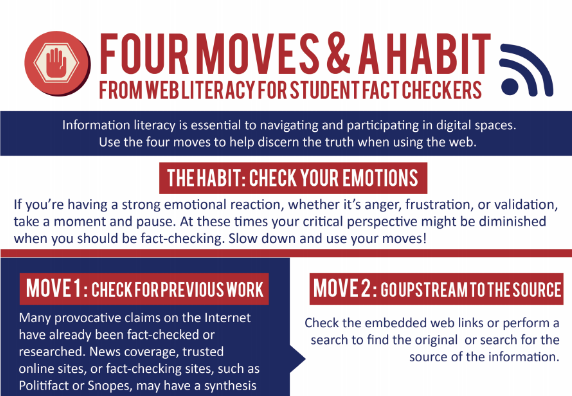 Preview of 4 Moves & a Habit infographic.