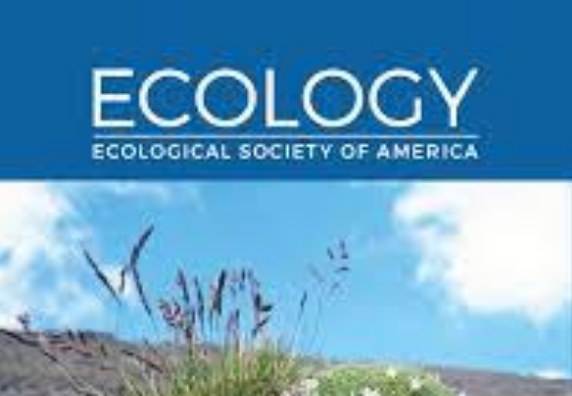 Journal cover for Ecology Ecological Society of America.