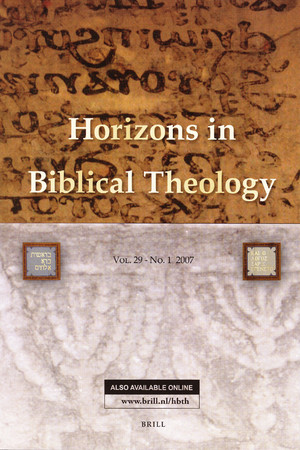 image of horizons in biblical theology