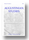 Image of Augustinian Studies